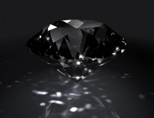 ¿Son reales los diamantes negros?